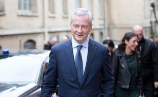 Bruno Le Maire à Paris, le 8 mars 2018.