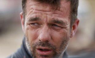 le pilote français Sébastien Loeb, le 13 janveir 2016, en Argentine, sur le Dakar.