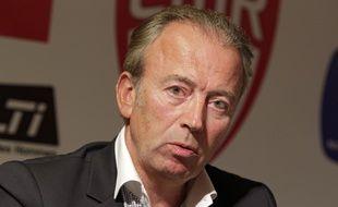 Le president du Lille MŽtropole Rugby (LMR), Stephane Desreumaux.