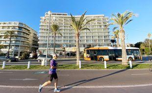 Le bâtiment accueille notamment l'hôtel Méridien et la casino Ruhl