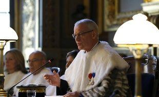 Betrand Louvel, premier président de la Cour de cassation