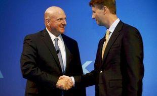 L'agence d'évaluation financière Moody's a estimé lundi que le finlandais Nokia sortait gagnant dans la transaction qui lui a fait vendre sa division téléphones portables à l'américain Microsoft.