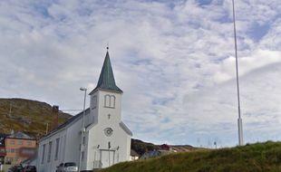 L'église d'Honningsvåg.