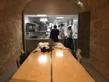 Les sous-sols de l'opéra de Bordeaux ont été aménagés pour accueillir, notamment, les cuisines du restaurant de Philippe Etchebest.