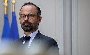 Point presse du Premier ministre Edouard Philippe a l'Elysée, le 23 mai 2019.