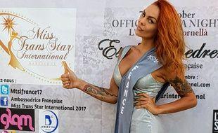 Estelle Roedrer s'envolera le 7 octobre pour Barcelone où elle participera au concours Miss trans star international.