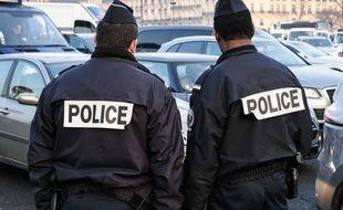 Des policiers ont effectués des contrôles dans le centre-ville de Lyon. (illustration)