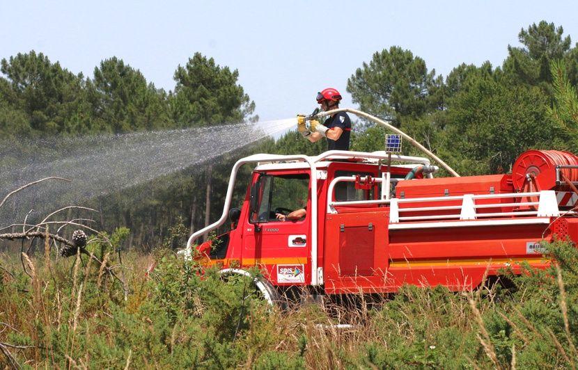 Nouvelle-Aquitaine : Un pompier volontaire soupçonné d'être à l'origine de deux feux de forêt