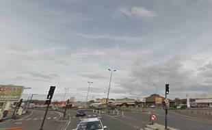 La jeune fille a été tuée sur un passage piéton de la départementale 437, à Audincourt.