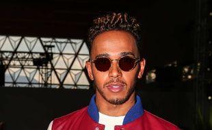 Le champion de Formule 1 Lewis Hamilton