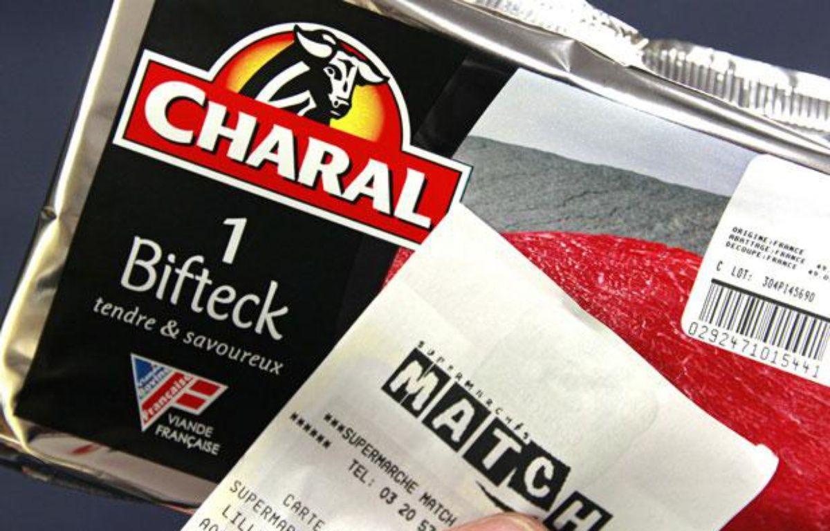 Un bifeck Charal acheté au supermarché Match de Lille, le 5 novembre 2012. – 20 MINUTES