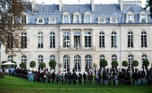 L'Elysée avait ouvert ses portes au public, le 18 septembre 2010, à l'occasion des 27e Journées du patrimoine.