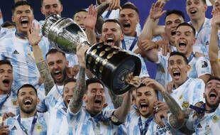 L'Argentine a gagné la Copa America, au stade Maracana de Rio de Janeiro le 10 juillet 2021.