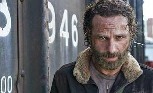Andrew Lincoln dans la saison 5 de Walking Dead