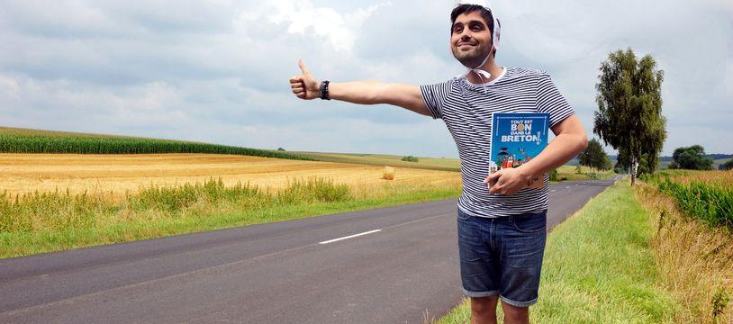 L'auteur Fabien Delettres a publié le livre Tout est bon dans le breton qui fait un carton en librairie.