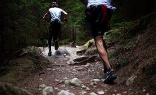 Les trails en montagne sont de plus en plus populaires. Illustration.