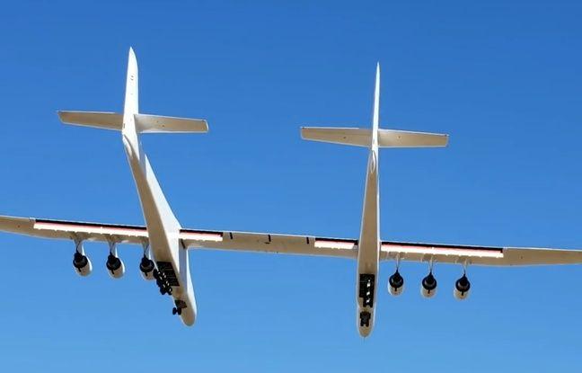 VIDEO. Californie: Premier vol pour Stratolaunch, le plus grand avion du monde