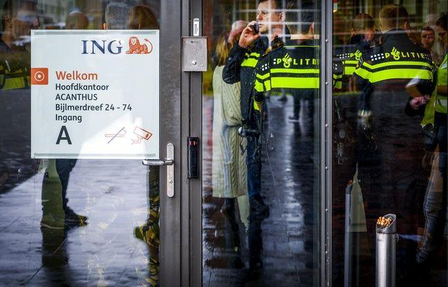 Pays-Bas : Un courrier piégé explose au siège de la banque ING à Amsterdam