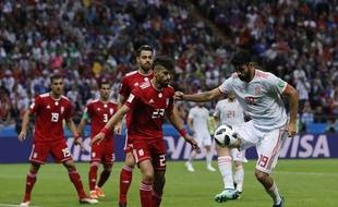 Diego Costa a ouvert le score face à l'Iran, mercredi 20 juin.