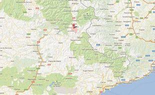 Google Maps de Crévoux (Hautes-Alpes).