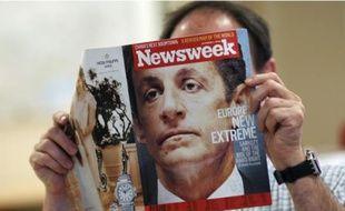 Newsweek a choisi Sarkozy pour illustrer «la montée des extrémismes en Europe».