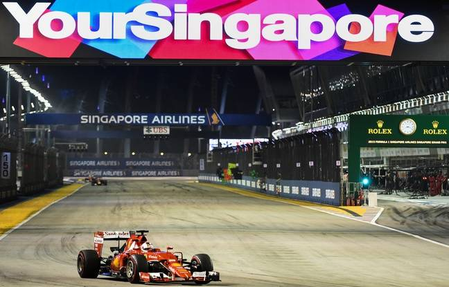 formule 1 victoire de vettel ferrari au gp de singapour. Black Bedroom Furniture Sets. Home Design Ideas