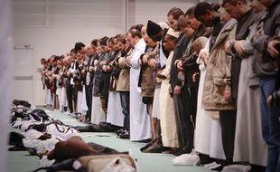 Illustration de musulmans en train de prier (archives).