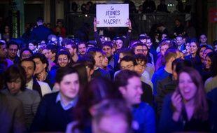 La convention nationale des Jeunes avec Macron le 17 mars 2018 à Nogent-sur-Marne.