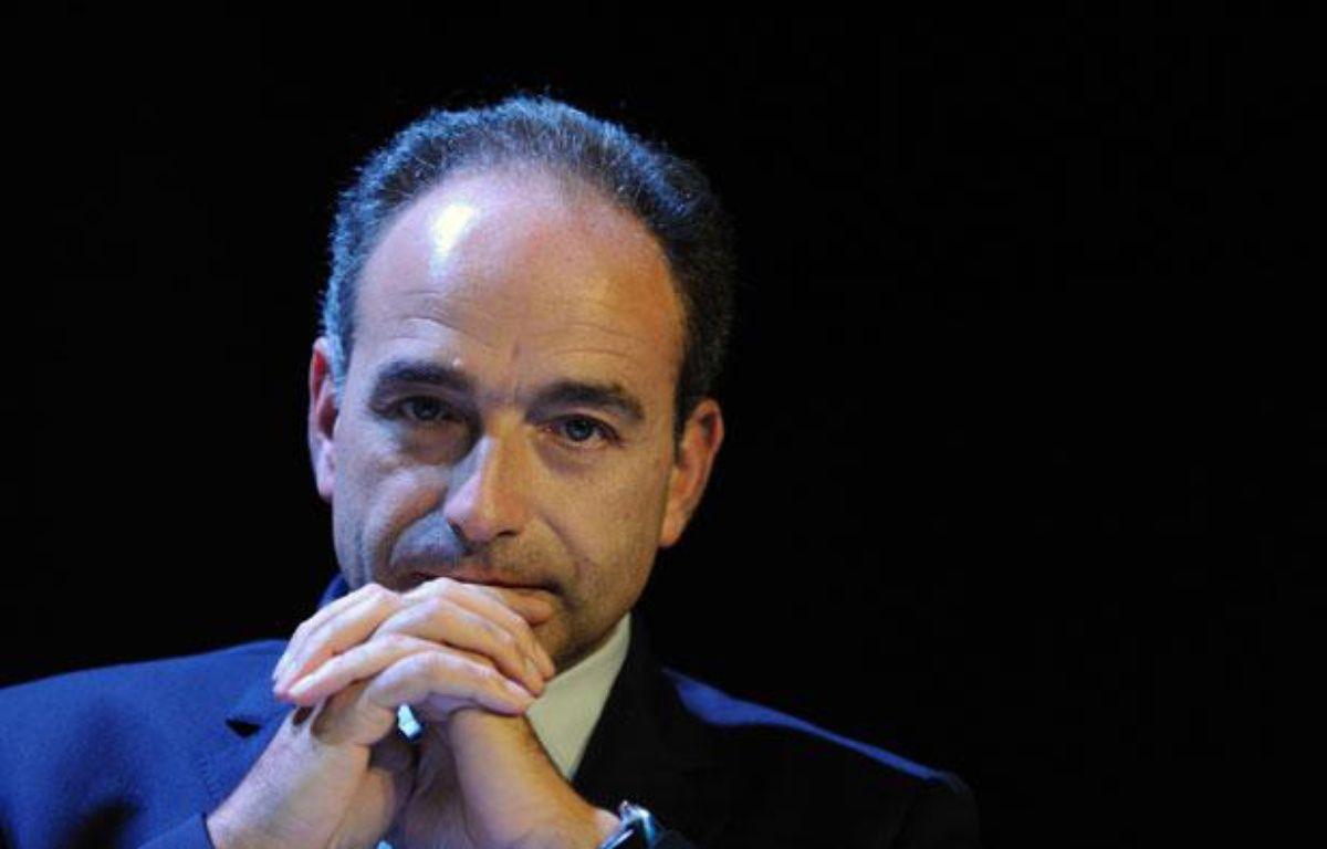 Jean-François Copé durant une convention UMP sur l'éducation, le 8 novembre 2011. – WITT/SIPA