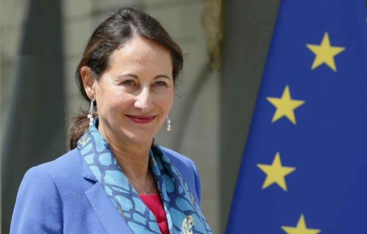 La ministre de l'Ecologie Ségolène Royal à l'issue du Conseil des ministres le 16 juillet 2014 – Patrick Kovarik AFP