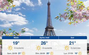 Météo Paris: Prévisions du vendredi 24 septembre 2021