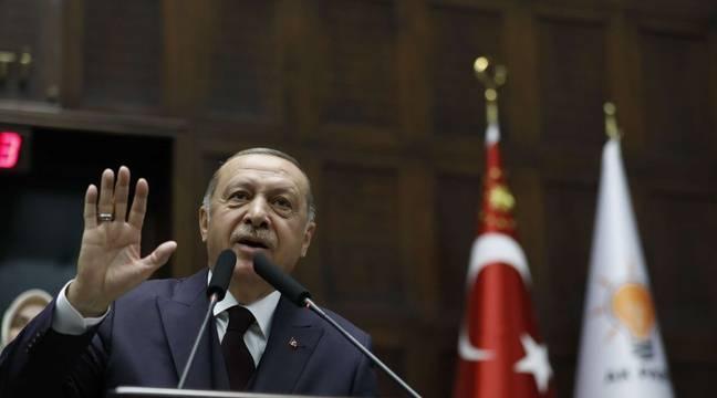 """El presidente turco Recep Tayyip Erdogan denuncia la """"violencia"""" de las autoridades francesas"""