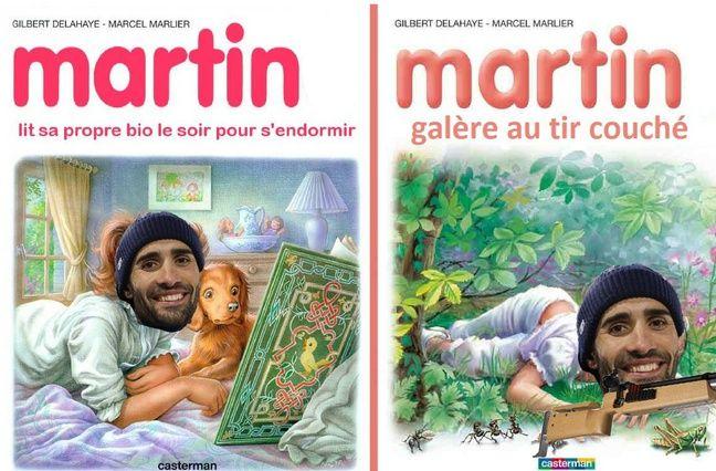 Martin littéraire.