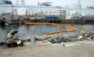 Le site de la centrale nucléaire Fukishima en mars 2011.