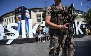 Un policier des forces spéciales à Istanbul (image d'illustration).