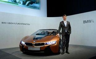 Harald Krüger, patron de BMW, le 16 mars 2016 à Munich