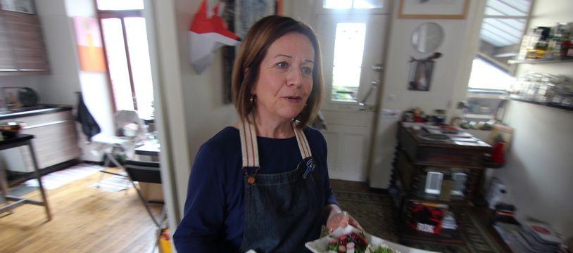 Hélène Armantier a ouvert son restaurant Numéro 13 dans le salon de sa maison à Rennes.