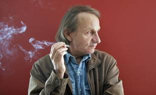 L'écrivain Michel Houellebecq, en avril 2015