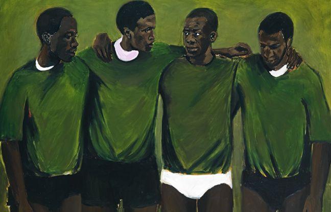 Lynette Yiadom-Boakye, Complication, 2013, 200 x 250 cm