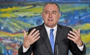 Le ministre de l'agriculture Didier Guillaume, le 25 juillet 2019 à Prague.