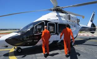 Marseille, le 25 juin 2016, le groupe Airbus Helicopters presente le H160 a Marignane.