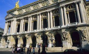 Le Palais Garnier (illustration).