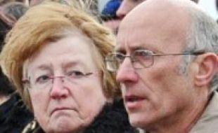 Les parents Michèle et Gilles Patron.