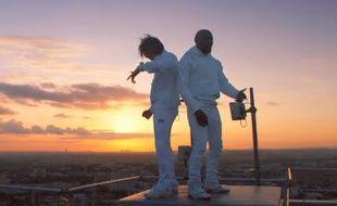 Orelsan et Kery James dans le clip «A qui la faute?».