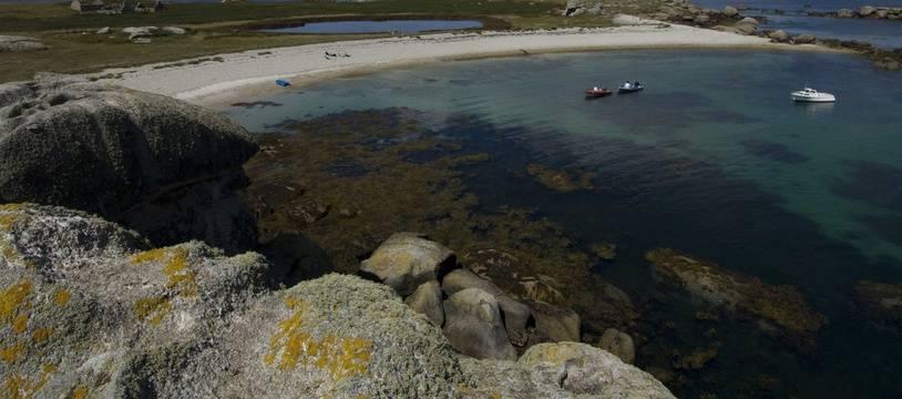 Illustration de l'archipel des Glénan dans le sud du Finistère.