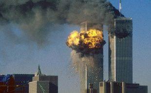 Les Twin Towers du World Trade Center, le 11 septembre 2001