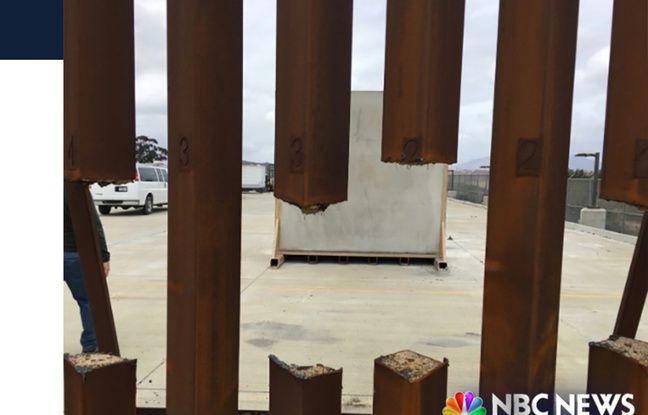 «Mur» aux Etats-Unis: Un des prototypes de barrière en acier peut être découpé à la scie Nouvel Ordre Mondial, Nouvel Ordre Mondial Actualit�, Nouvel Ordre Mondial illuminati