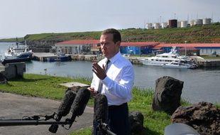 Dimitry Medvedev a fait une visite remarquée aux Kouriles.