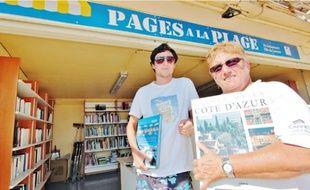 Cet été, la bibliothèque éphémère s'installe un mois de plus, jusqu'au 15 septembre prochain.