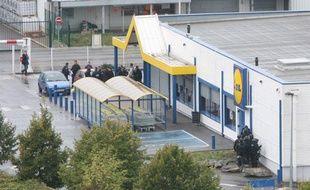 Six personnes ont été prises en otage dans un magasin Lidle de Sevran en Seine-Saint-Denis le 21 octobre 2009
